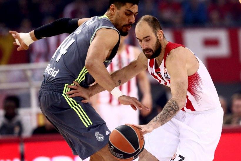 Kreeka hiiud läksid lisaajale, tiitlikaitsja oli hoolimata Doncici pingutustest üle Madridi Realist