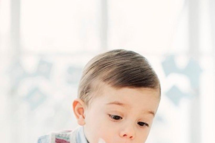 POISS NAGU PONKS! Rootsi prints Oscar on juba kaheaastane!