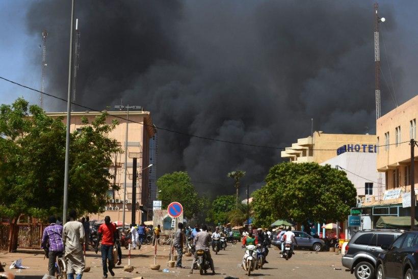 Prantsuse saatkonnas Burkina Fasos toimus plahvatus