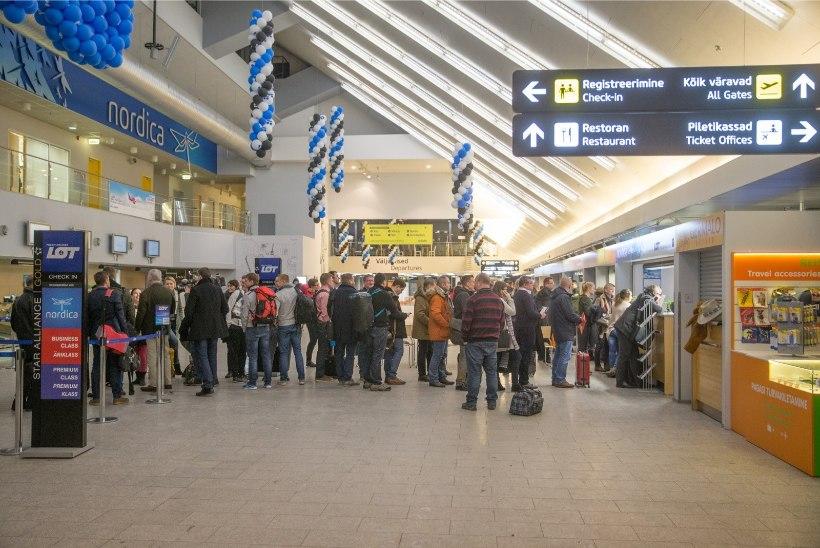 SKEEM: lennujaam sulgeb reisiterminali esise sõiduautodele
