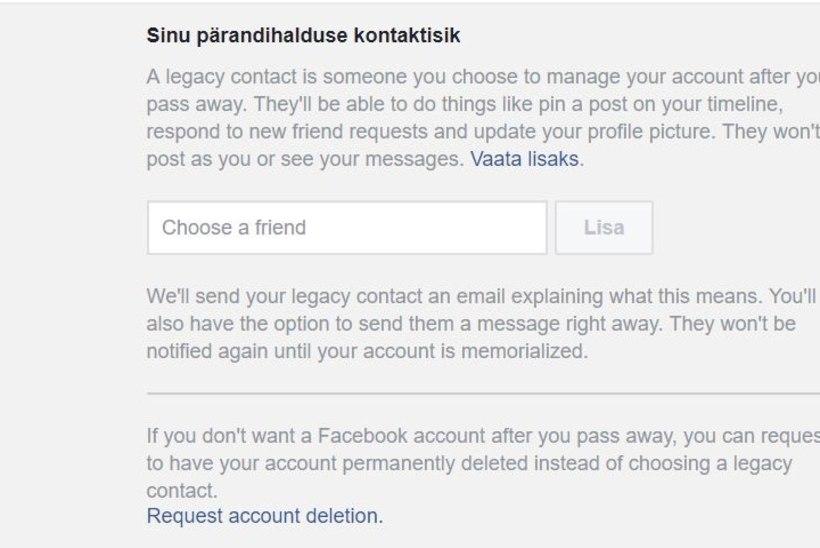 Andmelekkeskandaali valguses: kuidas Facebookis surra?