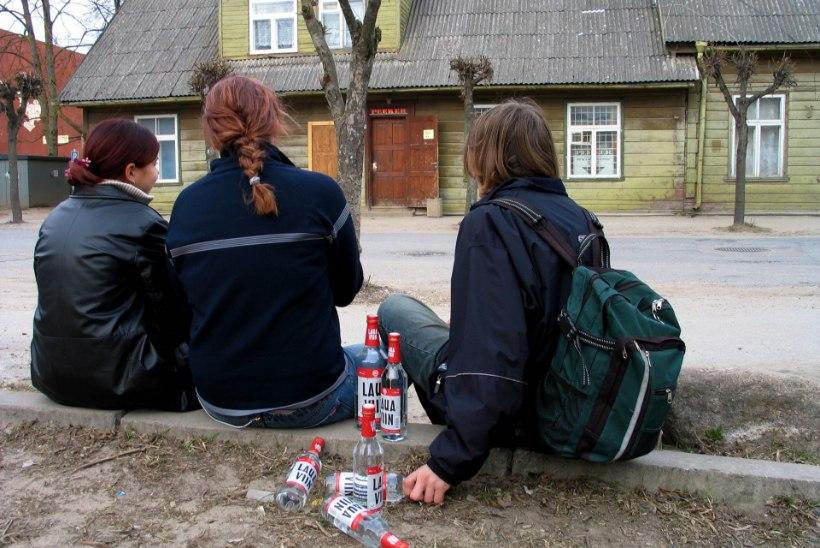 Eestis satub aastas haiglasse üle saja alkoholimürgistusega lapse