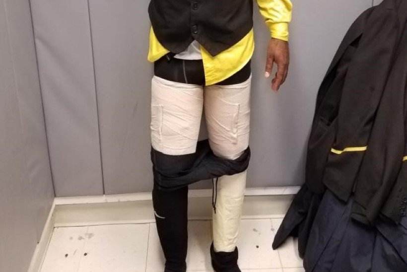 PILTUUDIS | Jamaica lennufirma töötaja peitis riiete alla neli kilo kokaiini