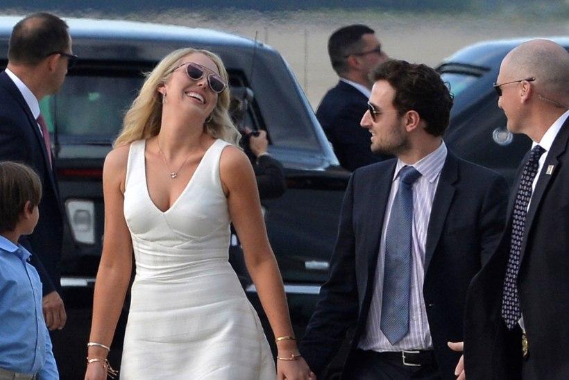 Donald Trumpi tütar Tiffany läks kallimast lahku