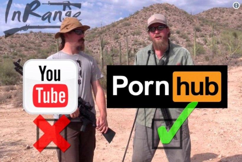 Relvaentusiastid kolivad Youtube'ist pornosaidile