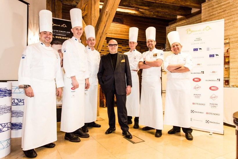 GALERII | Eesti kokad valmistuvad olümpiale minekuks
