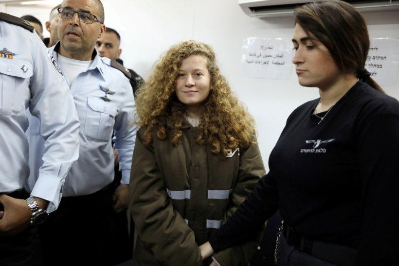 Sõdurit löönud Palestiina teismelist karistati kaheksa kuu pikkuse vangistusega