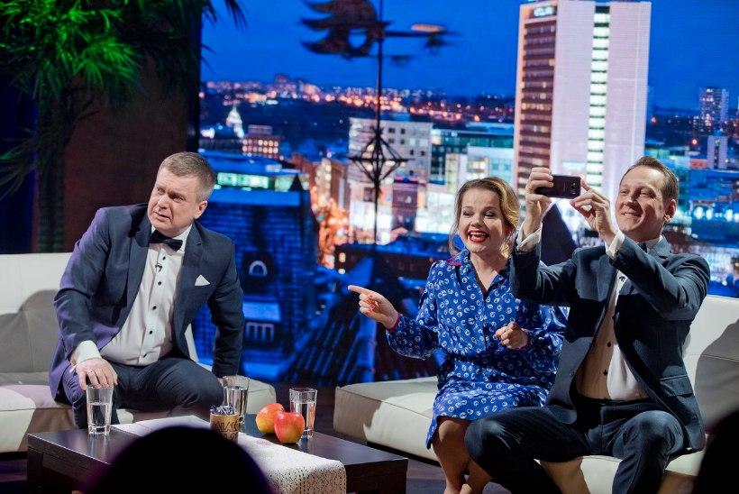 """VIDEO   """"Nädalalõpp Kanal 2ga"""" juubeliosas tõmbavad Jõekalda ja Margna selga kaitseülikonnad"""