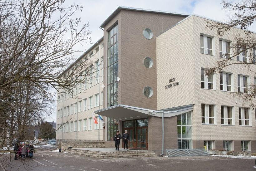 Pahandus lifti pärast: Tartu Tamme kool on Tartu rae peale tige