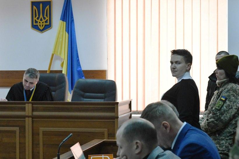 Vahi all viibiv Nadija Savtšenko alustas taas näljastreiki