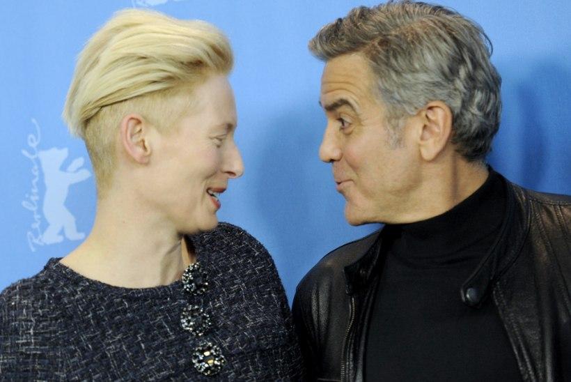 Tilda Swinton pidi end ribadeks naerma, kui Clooney kaksikud sai