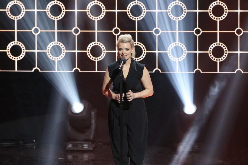 VIDEO | Grete Lõbu parima naissaatejuhi auhinda vastu võttes: Signe, me pidime siin täna sinuga kõrvuti istuma