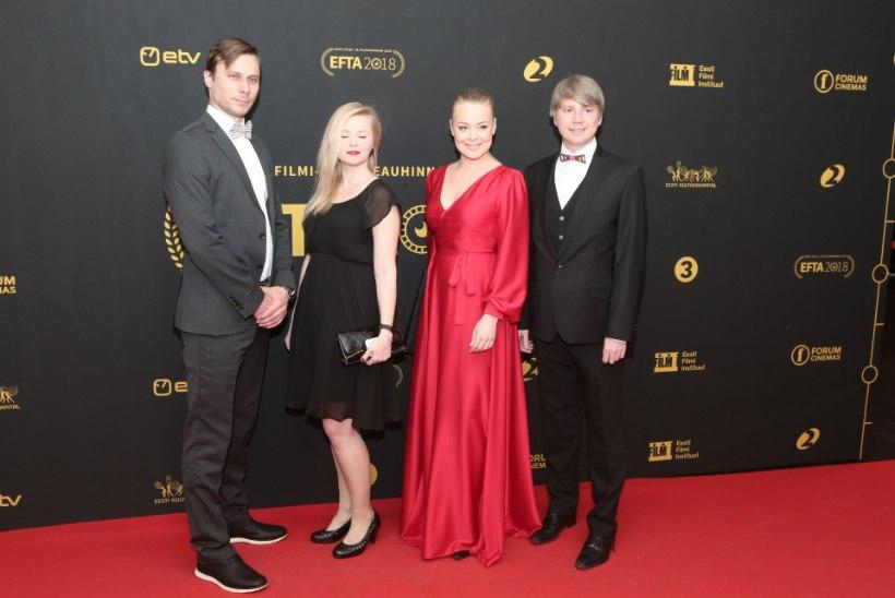 SUUR GALERII | Eesti tele- ja filmimaailma koorekiht poseeris EFTA punasel vaibal