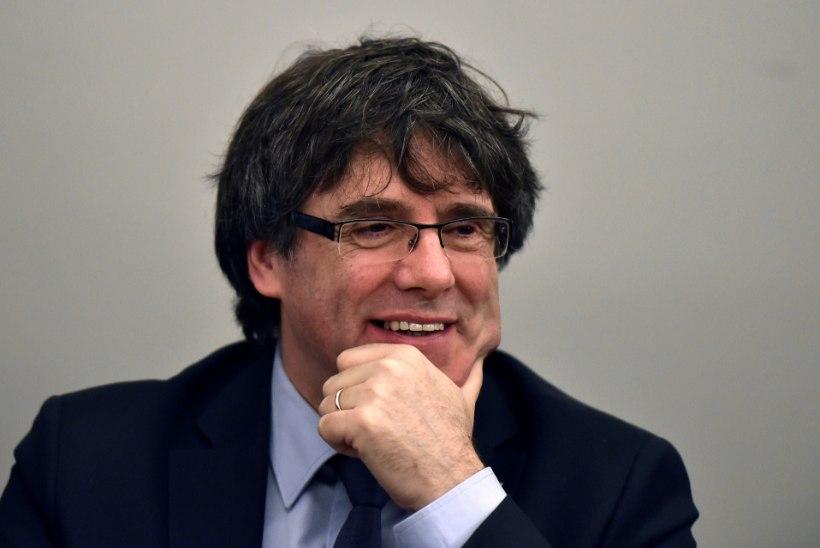 Saksa politsei vahistas Kataloonia ekspresidendi