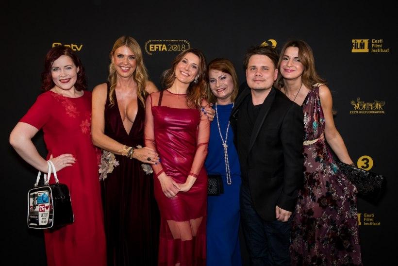 TV3 VIDEO | Bravuuritar tegi seda taas: EFTA gala paljastavaim kleit varjas napilt-napilt Anu Saagimi uhket büsti