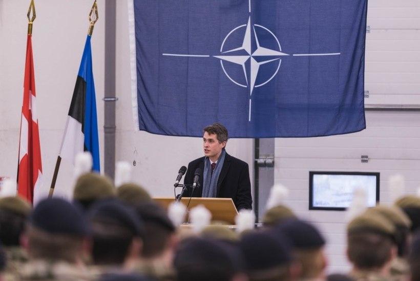 GALERII | Briti kaitseminister Eestis: Putini ainus eesmärk on Ühendkuningriigi ja tema liitlaste vahele kiilu lüüa