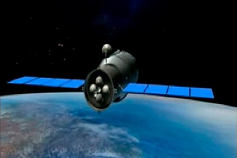Hiina kosmosejaama kukkumine Maale (tõenäoliselt) suurt ohtu ei kujuta