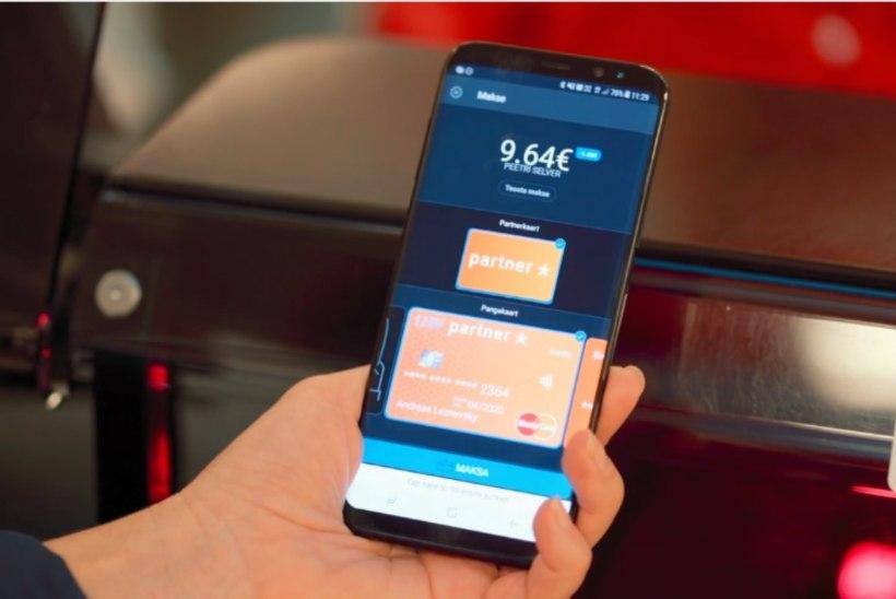 Eestlased maksavad üha aktiivsemalt mobiiliga