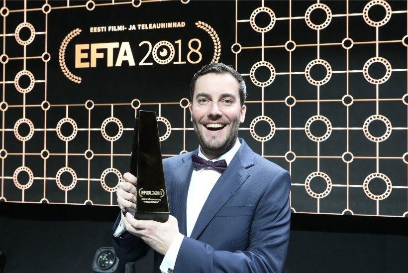 Televaataja pahandab: EFTA auhindu hakati jagama poolteist tundi enne välja kuulutatud aega!