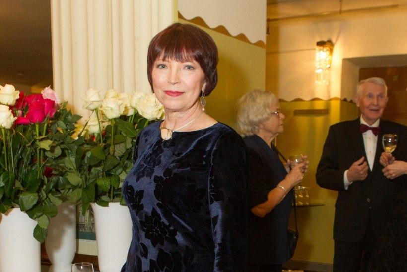 Näitlejanna Kersti Kreismann sattus autoavariisse