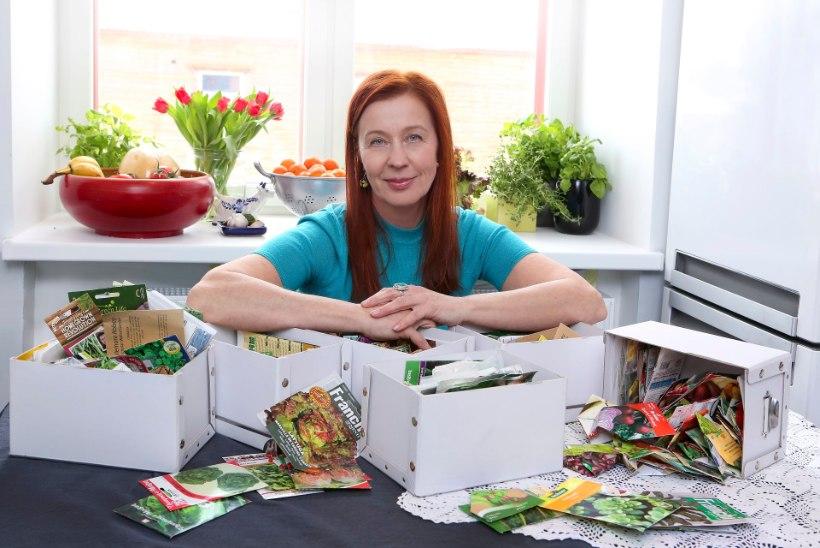 """Eva Luigas aianduskirest: """"Olin oma eluga kuidagi Exceli tabeli maailma jõudnud ja tahtsin sealt eemale."""""""