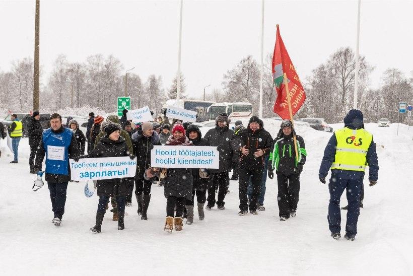 Rakvere lihakombinaadi streikijaid esitasid tööandjale ettepaneku rahu sõlmimiseks