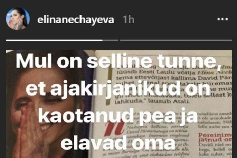 PERETERAPEUT: Elina Nechayeva vajab rahva toetust, mitte suhteanalüüse