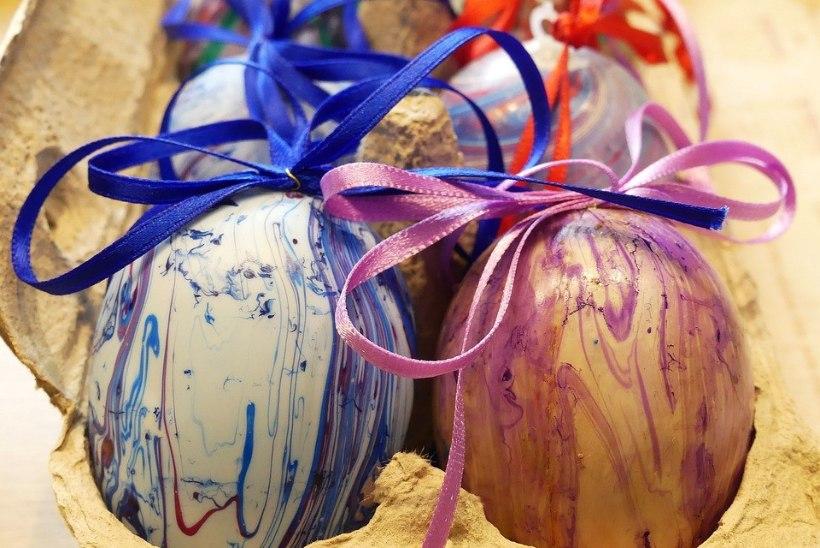 Värvime mune! Kasuta selleks looduslikke värve!