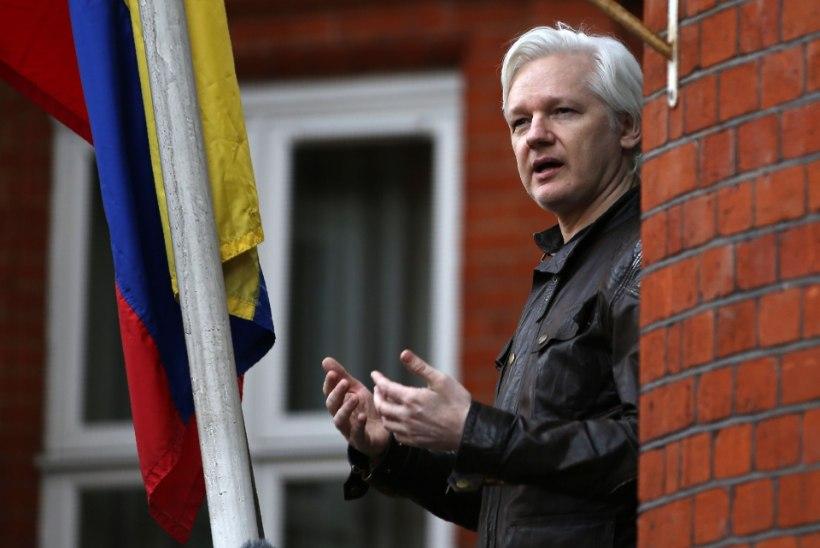 Assange jäeti internetiühenduseta