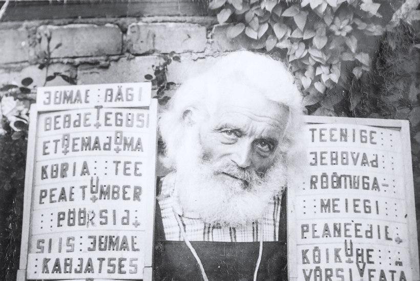 Veel 75aastaselt ronis prohvet Seiu mööda puid ja kuulutas jumalasõna
