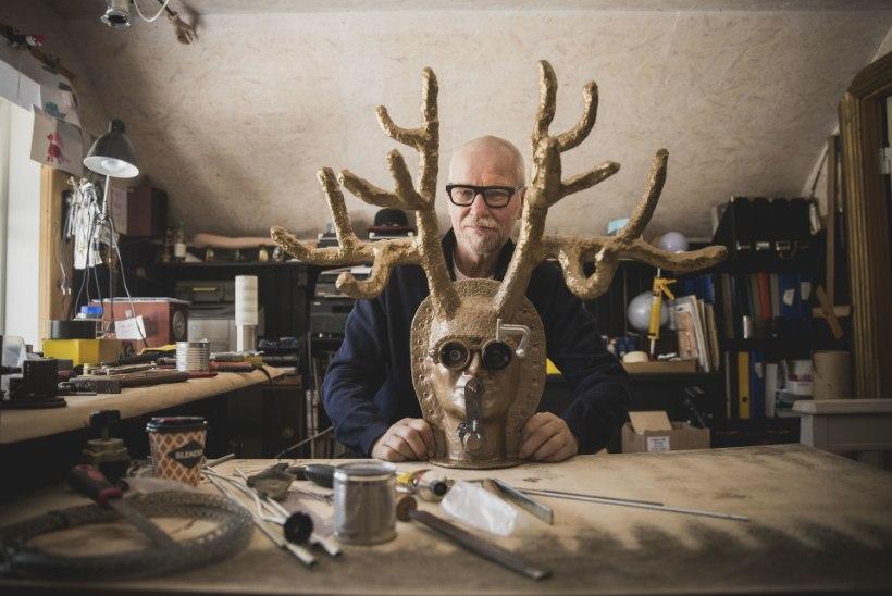 """Lavastuskunstnik Kalju Kivi: """"Kõige nürim oleks teha tööd, mis ei meeldi. Õnneks on kunstnikul vabadus jah või ei öelda."""""""