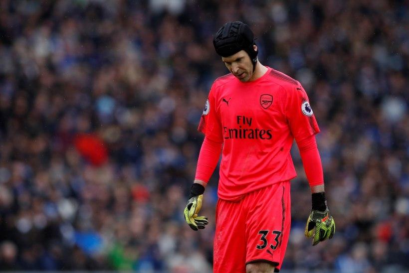 VIDEO   Vanameister Petr Cechi saamatused tõid Arsenalile järjekordse kaotuse