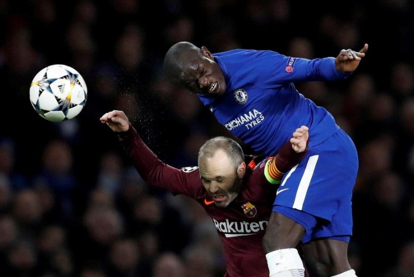 Londoni Chelsea staar kukkus treeningul kokku