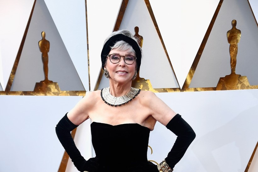 FOTOD | Filmidiiva Rita Moreno kandis Oscaritel sama kleiti, mida 57 aasta eest