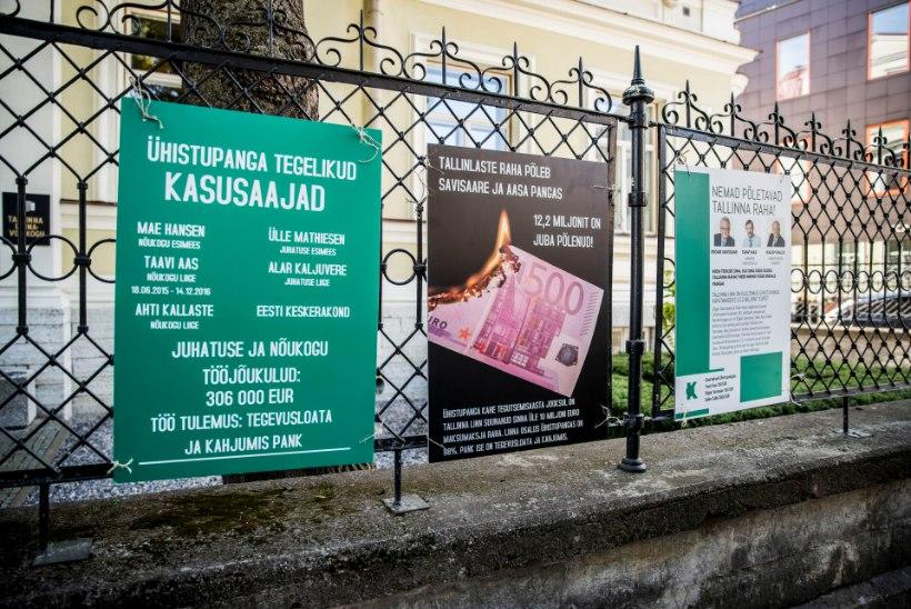 Eesti Ühistupank käib tegevusloa tõttu kohut