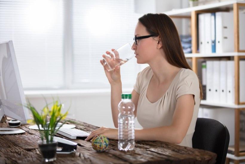 Kolm märki, et peaksid rohkem vett jooma