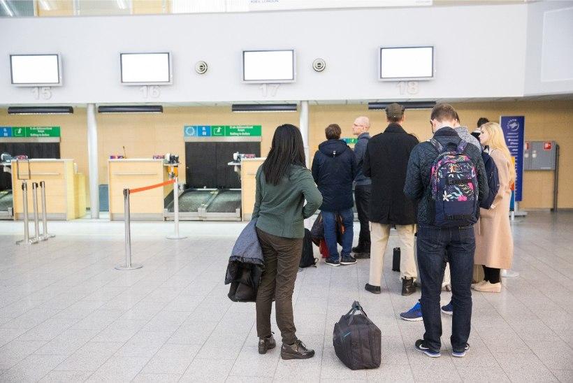 Lennujaamas pomminalja teinud mees jäeti lennukist maha