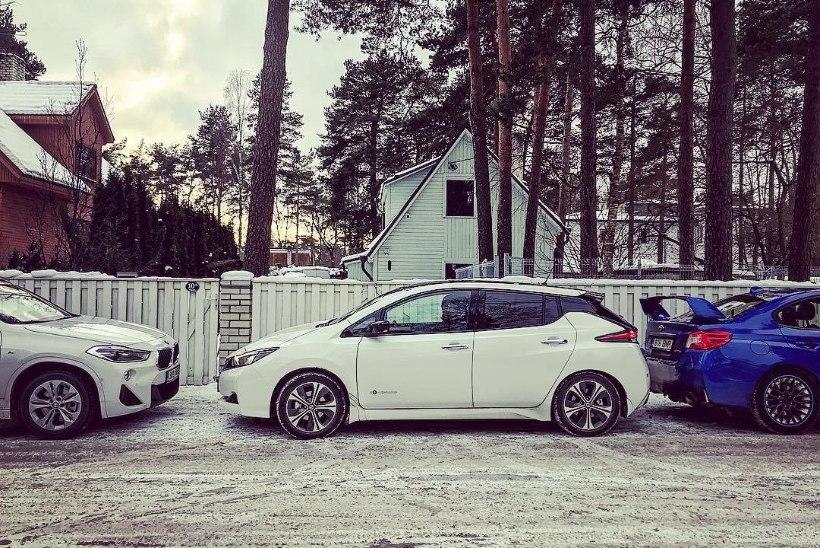 SUUR EKSPERIMENT: uue Nissan Leafi elektriautoga Tallinnast Genfi, autonäitusele – kas see on võimalik?