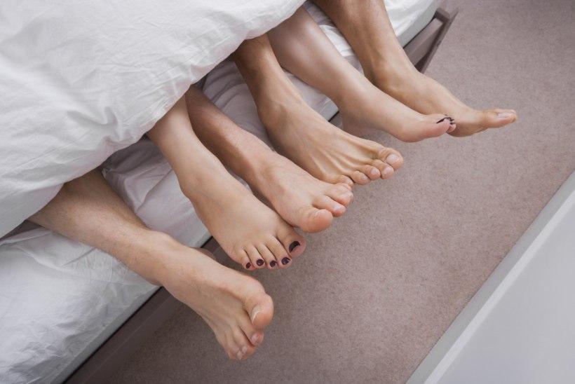 TUGEV SUHE JA HEA SEKS: svingeritest abielupaar naudib orgiaid ja võõraid partnereid