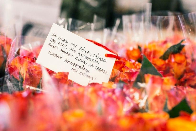 GALERII | NUNNUMEETER PÕHJAS! Mida kirjutavad eesti mehed naistepäevakaartidele?