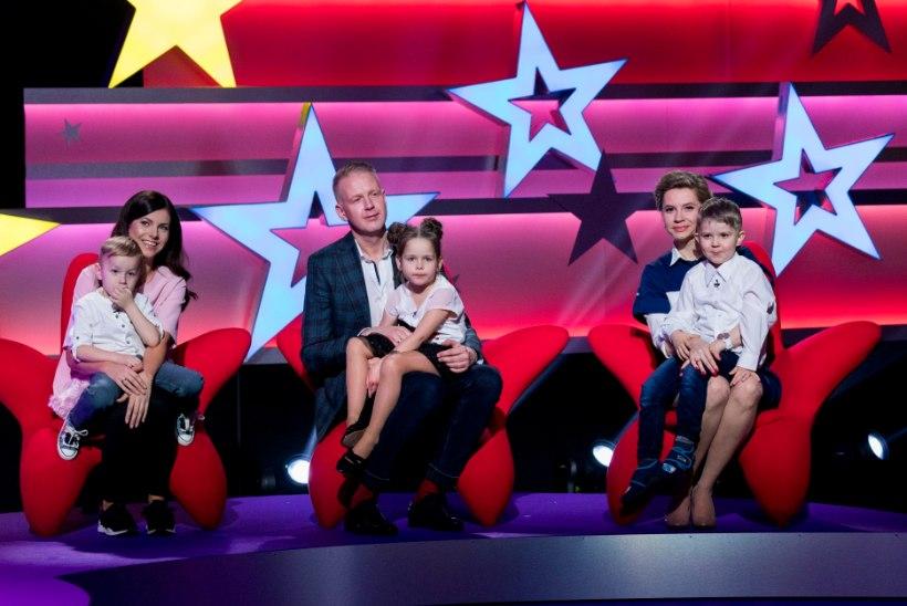 """Suure tähe väike täht"" alustab! Võistlustulle asuvad Mihkel Mattisen, Birgit Sarrap ja Anna-Maria Veidemann-Makko"