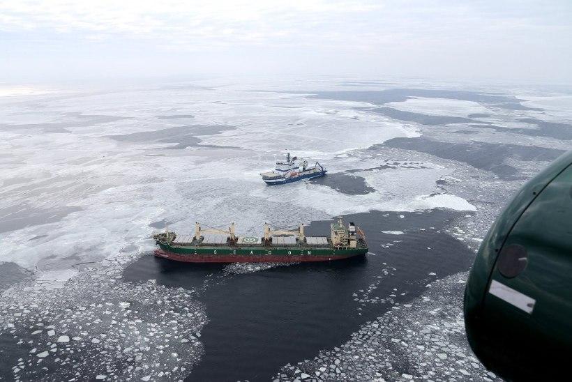 PÄÄSTEOPERATSIOON SOOME LAHEL | Piirivalve läks appi merehädas Panama kaubalaevale