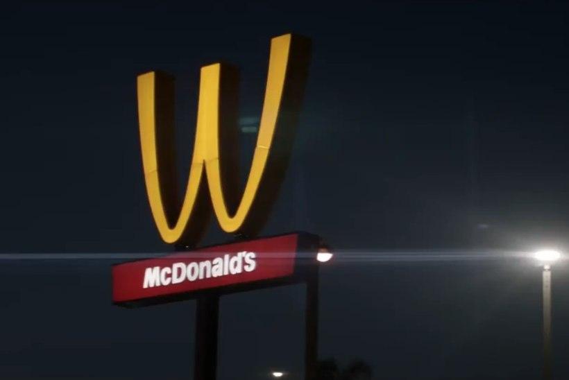 McDonald's keeras naistepäeva puhul M-i tagurpidi