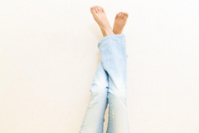 Viis põhjust, miks iga päev jalad mõneks ajaks seinale visata