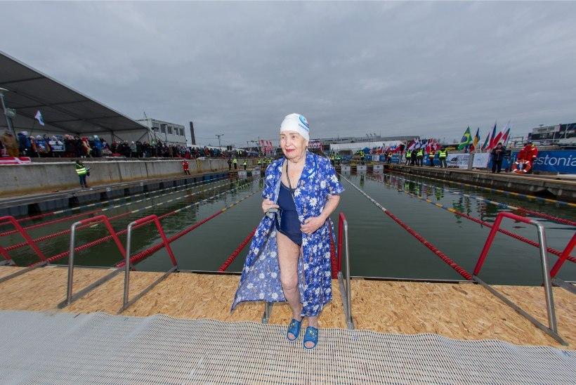 92aastane ujuja viib Tallinna MMilt koju pronksmedali