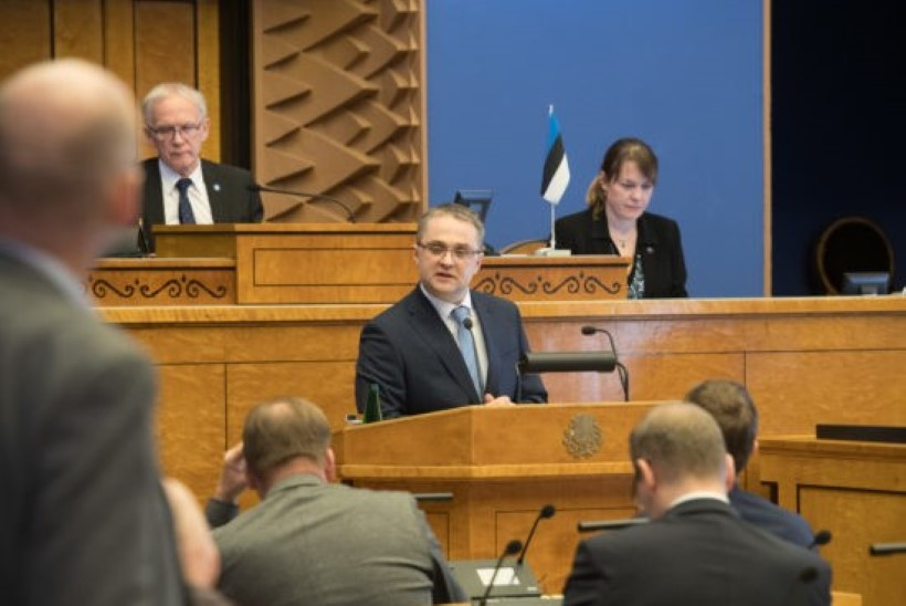 FOTOD | Uus riigikontrolör Janar Holm riigikogule: ma ei lase asjadel uttu minna