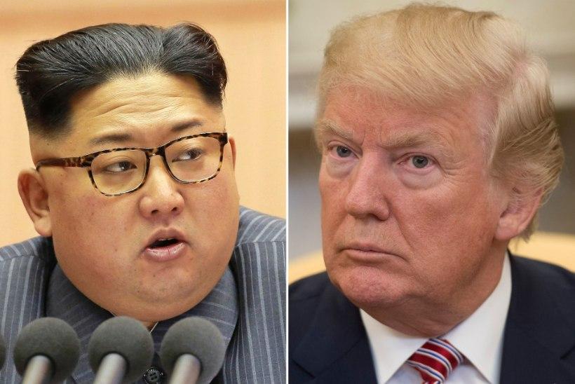 DONALD TRUMP JA KIM JONG-UN TEEVAD AJALUGU: kus nad võiksid kohtuda?