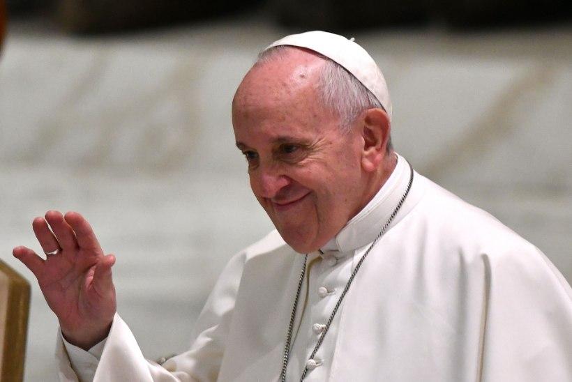 Paavst külastab Eestit 25. septembril