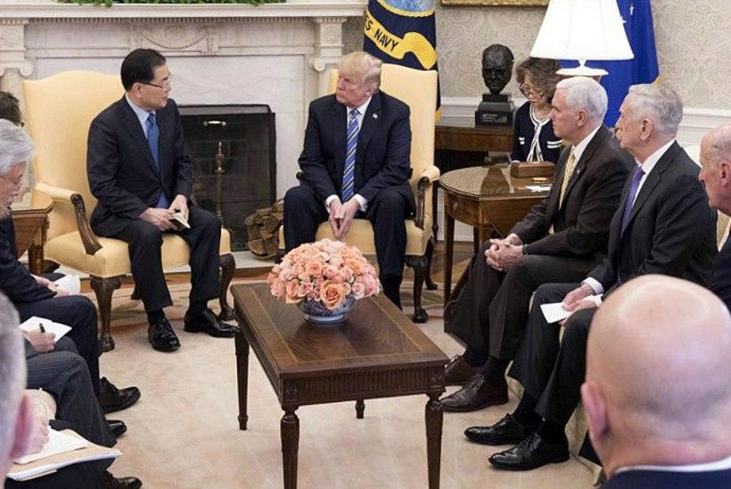 Trump kohtub kevadel Kim Jong-uniga