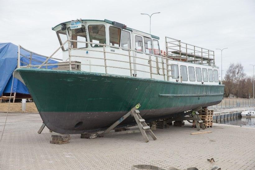 GALERII   Tartusse saabus Soomest uus reisilaev Maar'a
